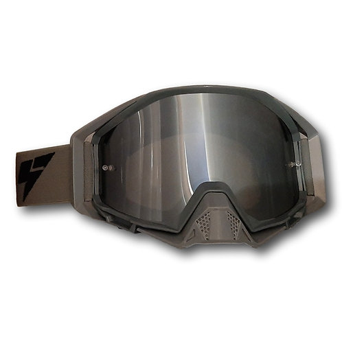 "LY64 Super Wide Vision Pro Goggle - Nardo Grey ""Limited Edition"""