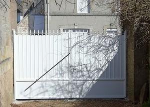 portail - alu - moderne - lumibaies - ou