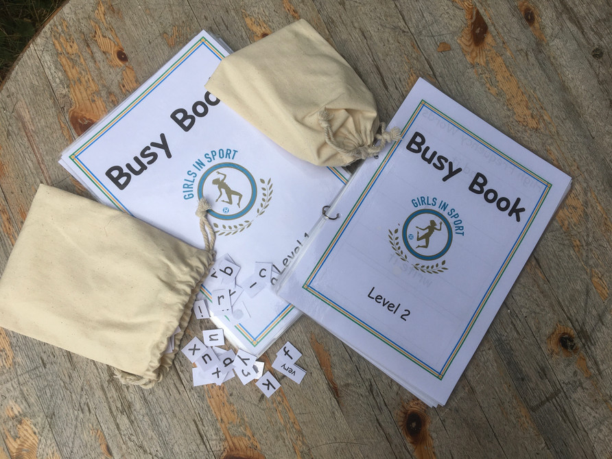 Our busy books