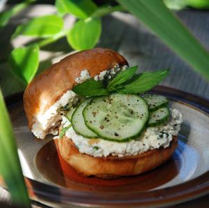 Fuwa Fuwa Cucumber Salad (in a bap)