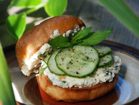 Fuwa Fuwa Cucumber Salad (in a bap)