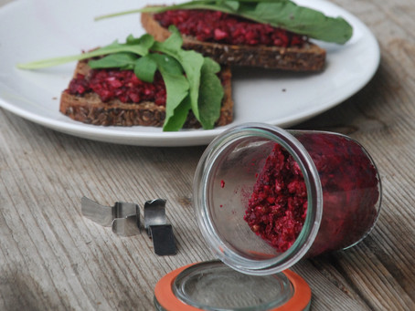 Beetroot Pesto