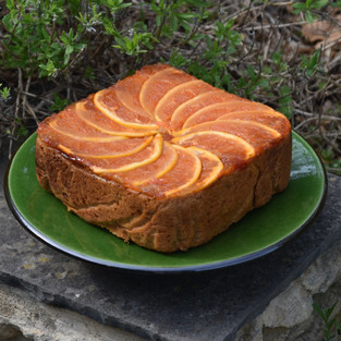 Upside-Down Spiced Marmalade Cake