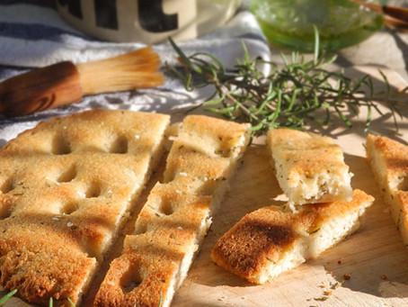 Gluten-Free Rosemary Focaccia