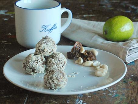 Naturally Sweet: Lime & Cocoa Nib Protein Balls
