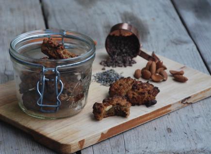 Naturally Sweet: Lavender & Cocoa Nib Cookies