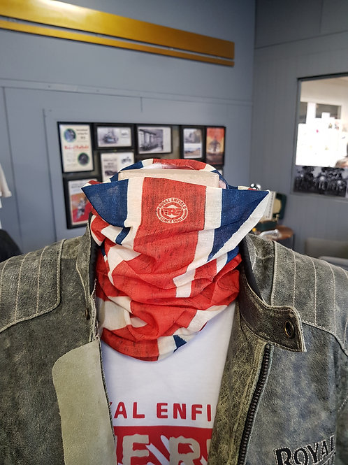 Tour de cou Royal Enfield - Union Jack