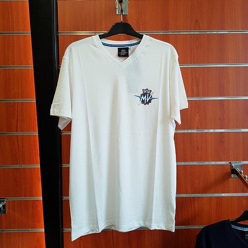 T-shirt col V avec logo - MV Agusta