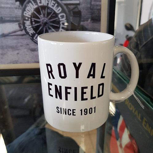 Mug Blanc 1901 - Royal Enfield
