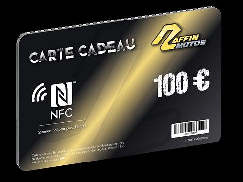 Carte cadeau NFC - 100€