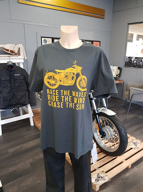 T-Shirt Royal Enfield - Race the Waves