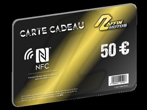 Carte cadeau NFC - 50€