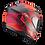 Thumbnail: Casque SCORPION EXO-520 AIR Cover - Noir mat /Rouge