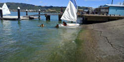 Running aground