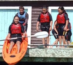 Kayak drop