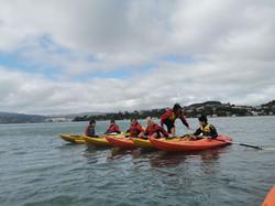 Kayak walk
