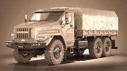 Ural Troop Carrier
