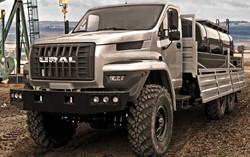Ural 6x6 Fuel Carrier