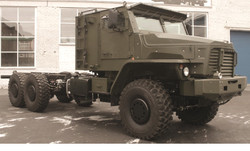 Ural Protected 6x6 Tractor