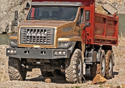 Ural 6x6 Construction Vehicle
