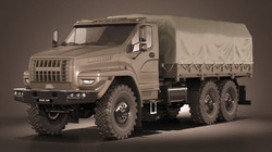 Ural 6x6 Logistic Vehicle