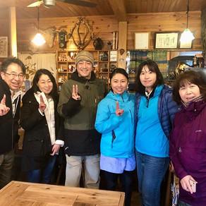 March 14th 2020 雨&雪の森林セラピー