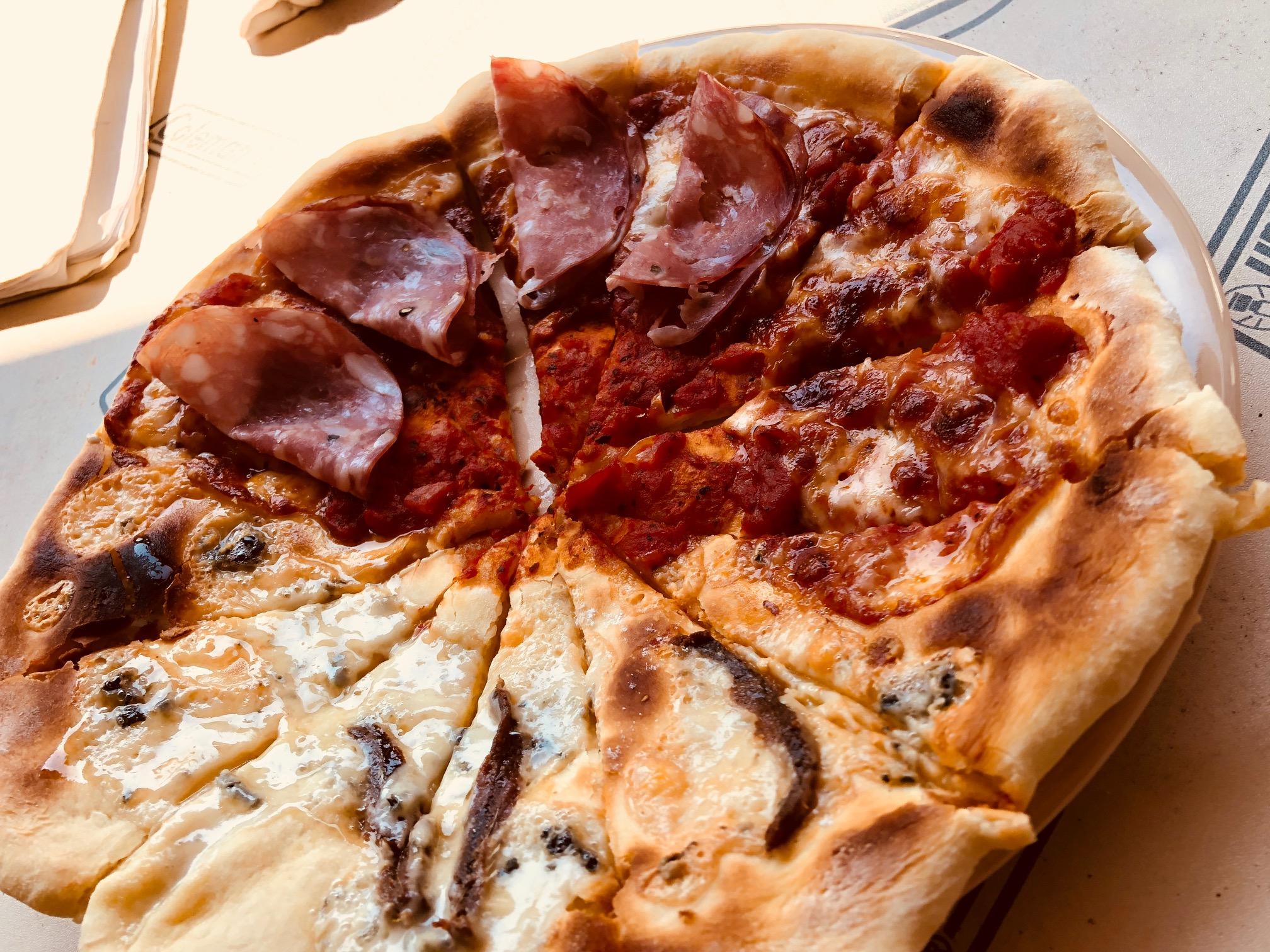 キャンプde釜焼きPizza