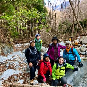 December 15th 2019 急きょ、滝までトレッキング