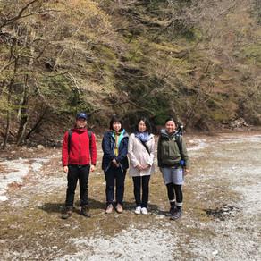 【春の森林を歩く森林セラピー】2019.4.14
