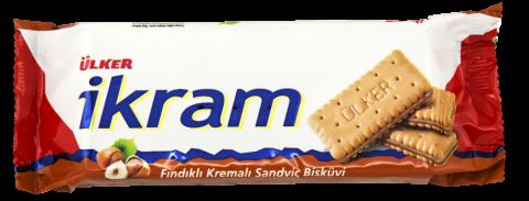 Ülker İkram Fındık Kremali Sandviç Bisküvi 84 Gr