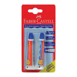 Faber Castell Solvent İçermeyen Sıvı Yapıştırıcı 2'Lı