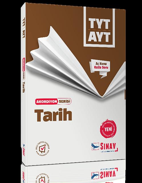 Sınav Yayınları TYT AYT Tarih Akordiyon Kitap