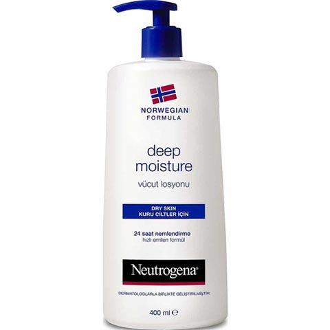 Neutrogena Vücut Losyonu 400ml Deep Moisture Parfümlü