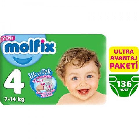 MOLFİX ULTRA AVANTAJ MAXI 4 BEDEN 136lı
