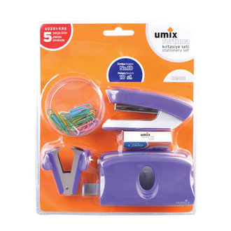 Umix 5'Li Set No:10 Neon Renk