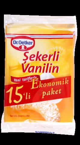 Dr.Oetker Şekerli Vanilin 15x5 Gr