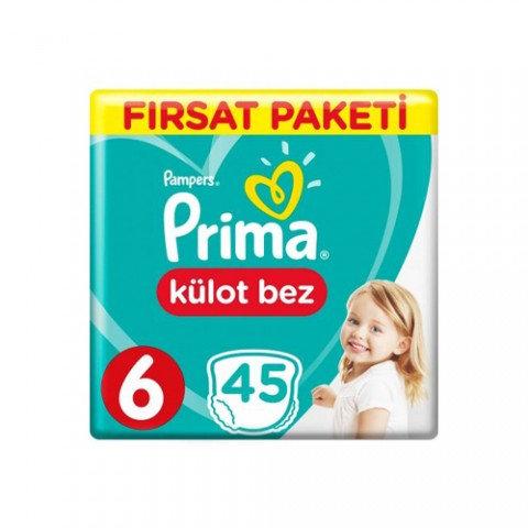 PRİMA KULOT BEZ FIRSAT PAKETİ 6 BEDEN 45li