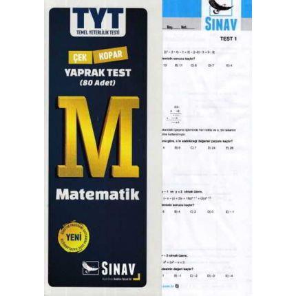 Sınav TYT Matematik Yaprak Test