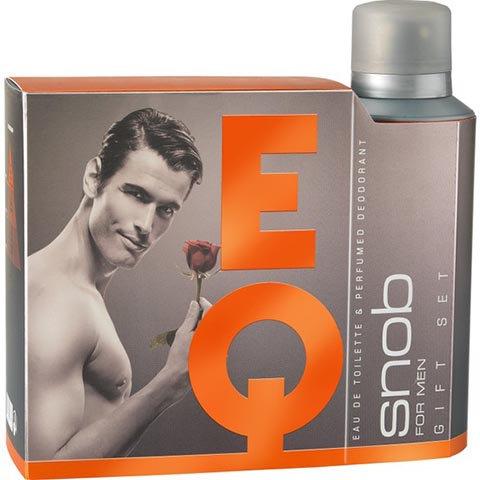 Snob Edt EQ 100ml + Deodorant 150ml Hediyeli Kofre Parfüm