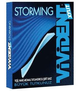 Vivident Storming Yeşil Nane Aromalı Sakız 33 Gr