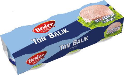 Besler Ton Balığı 3x80 Gr