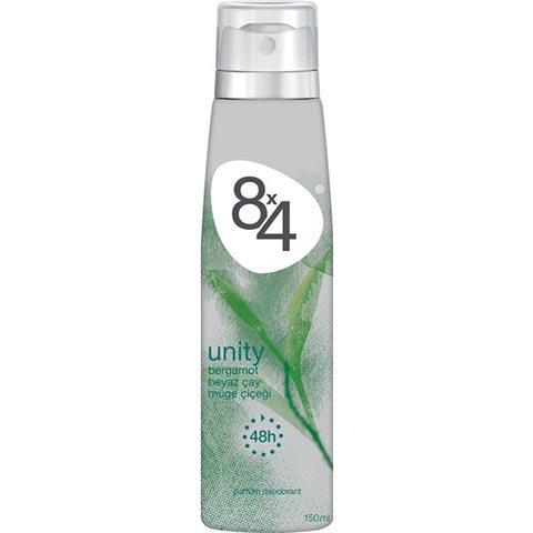 8X4 Deodorant Unıty Sprey 150ml Kadın