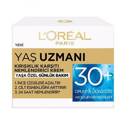 LOREAL PARİS YAŞ UZMANI KIRIŞIK KARŞITI KREM 50+