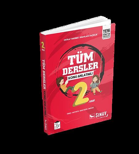 Sınav Yayınları 2. Sınıf Tüm Dersler Konu Anlatımlı