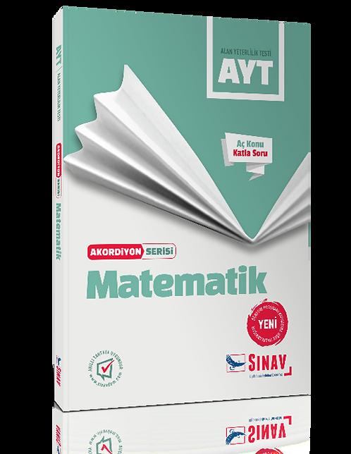 Sınav Yayınları AYT Matematik Akordiyon Kitap