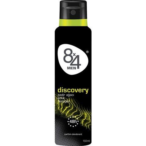 8X4 Deodorant Dıscovery Sprey 150ml Erkek