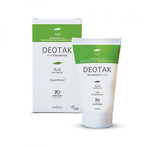 DEOTAK Krem Deodorant Plus 35ml