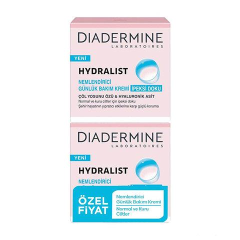 Diadermine Hydralist Nemlendirici Günlük Bakım Kremi 2'li Set