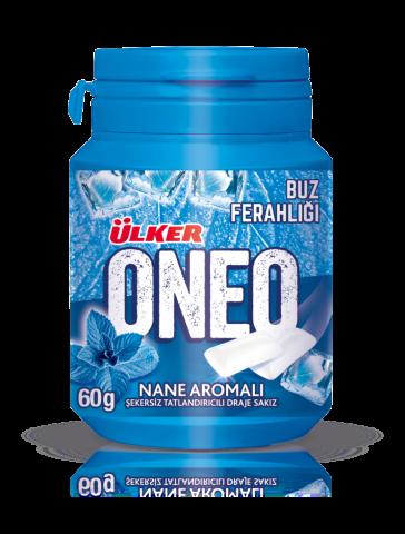 Ülker Oneo Nane Aromalı Şekersiz Tatlı Draje Sakız 60 Gr