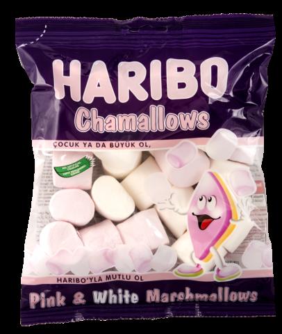 Haribo Marshmallow Pembe&Beyaz 150 Gr